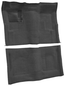 New 1969 1972 Chevy Nova 2 4 Door Black Molded Carpet Set W Padding