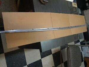 1957 58 Ford Skyliner Front Flapper Stainless Mlg accross The Leading Edge