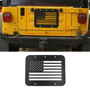 For Jeep Wrangler Tj 1997 2006 Spare Tire Carrier Delete Filler Car Accessories
