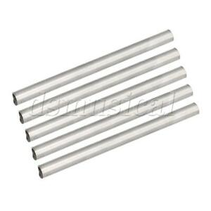 5 X Od 15mm Id 12mm Length 200mm 304 Stainless Steel Metal Round Tubing