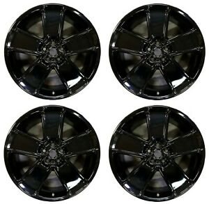 21 Chevrolet Camaro 2012 2013 2014 2015 Factory Oem 5588 5591 Gloss Black Set