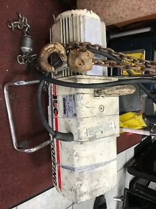 Coffing Electric Chain Hoist Model Jlc1016 1 10 1 2 Ton