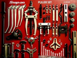 Snap On Tools Cj2000s Master Puller Set W Control Board No Cabinet Included