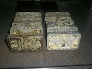 10 Holley Metering Blocks Used