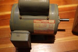 Dayton Electric Motor 2 Hp 3450 Rpm 115 230 Vac 22 11 Amps Cont 6k138c