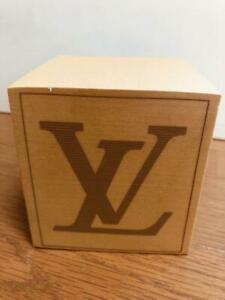Louis Vuitton Block Memo Cube 3 5 X 3 5 In Brown Note Pad Stationery Vip Novelty