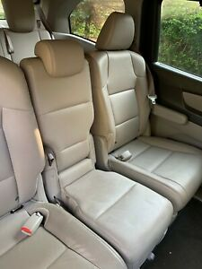 2011 2017 Honda Odyssey 2nd Row Leather Center Jump Seat Gray Color Like New