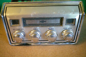Gm 8 Track Stereo Player 1965 69 Chevy Corvair Chevelle Nova Parts Only