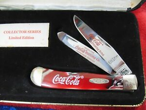2000 Case XX Coca Cola Bottling Co. Collector Series 3254 CV Limited Ed. Knife
