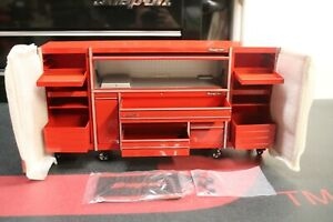 New Snap on Tools Epiq Series Storage System 1 10 Scale Die cast Replica Red
