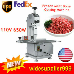 Us Electric Bone Saw Machine Frozen Meat Frozen Fish Steak Cutting Machine 110v