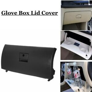 Abs Car Glove Box Door Lid Cover With Hinges For Vw Golf Jetta A4 Wagon Black