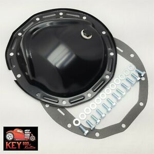 Chevy 12 Bolt Car 8 875 Black Differential Rear Cover Camaro Chevelle Gasket