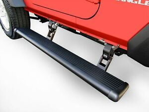 Amp Research Powerstep Electric Running Boards For 2020 Jeep Gladiator Jt
