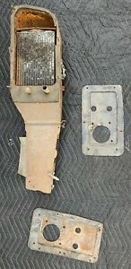 1959 Chevy El Camino Impala Under Dash Heater Core Case Box Assembly