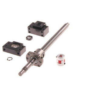 Sfu2505 Ball Screw Rm2505 L1600 2000mm With Ballnut Bk bf15 End Supports coupler