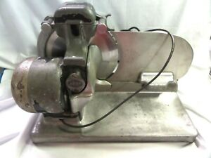 Vintage Hobart Model 210 Meat Cheese Deli Slicer good Working Condition