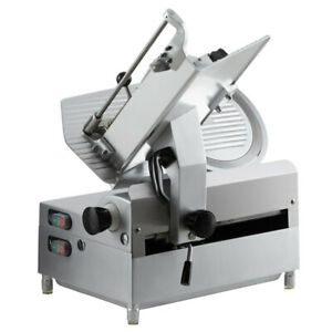 Avantco Sl612a 12 Medium duty Automatic Meat Slicer With Manual Use Option