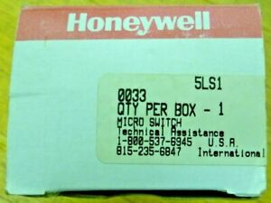 Honeywell Micro Switch 5ls1 Roller plunger Style