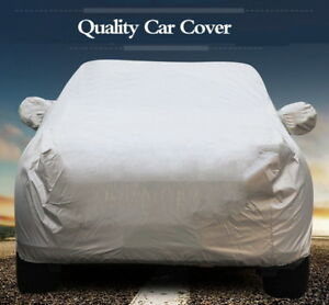 Outdoor Car Cover Clothes Protector Scratch Dust Sun Heat Rain Snow Water proof