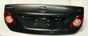 2010 Toyota Corolla Trunk Deck Lid Tailgate Oem Grey