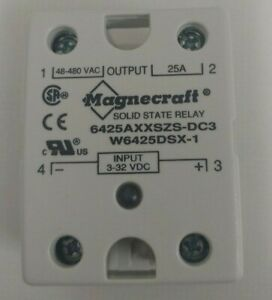 Magnecraft 6225axxszs dc3 25a Solid State Relay Fnob