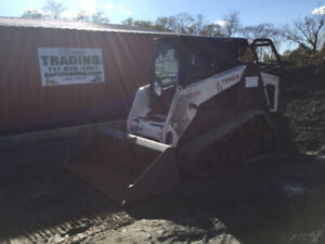 2014 Terex Pt110f Forestry Compact Track Skid Steer Loader W Cab 2spd High Flow