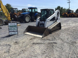 2005 Bobcat T300 Skid Steer Loader W Cab High Flow One Owner 2600 Hours