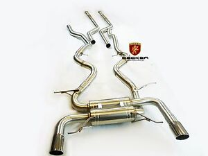 Becker S s Catback Exhaust Fits 2007 2010 Bmw 335i E92 Coupe Twin Turbo N54 2dr