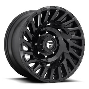 Fuel Cyclone D682 Rim 18x9 5x150 Offset 1 Gloss Black Quantity Of 4