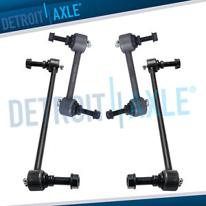 Front Rear Sway Bars For 2011 2017 Ford Police Interceptor Utility Explorer