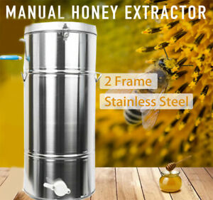Stainless Steel Honey Extractor Stainless Steel Beekeeping Fast Shipping To Usa