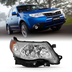09 13 Subaru Forester Chrome factory Style Headlight Replacement Passenger Rh
