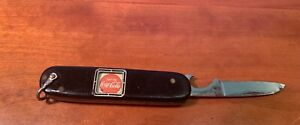 Coca Cola pocket knife *rare* with moving text window