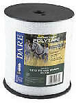 2346 Electric Fence Tape White Poly 5 wire Stainless Steel 5 in X