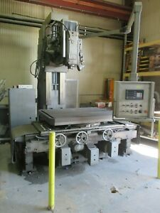 Used Boko Heavy Duty Universal Table Head Vertical Boring Mill 3 axis Dro dp