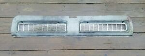 1965 Chevrolet Corvair Corsa Rear Engine Air Outlet Panel Grille Trim Oem Chevy