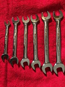 Snap On Six Piece Metric Open End Wrench Set