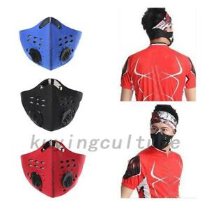 Reusable Anti dust Respirator Dust Mask Outdoor Cycling Active Carbon Mask
