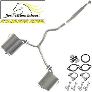 Stainless Steel Exhaust System Kit Fits 2009 2013 Forester 2008 2011 Impreza