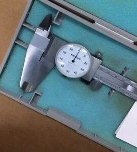 Mitutoyo Dial Caliper 0 12 Inch With Case Made In Japan 505 645 50