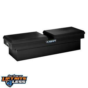 Lund 86451 70 Cross Bed Truck Tool Box Full Size Gull Wing Steel Black