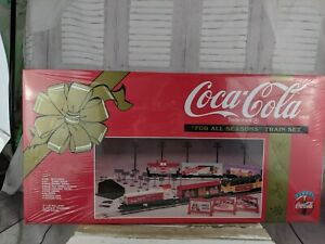 k-line coca-cola coke train set for all seasons RARE engine car