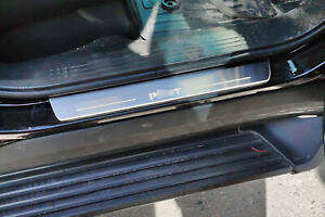 Led Illuminated Stainless Steel Door Sill Guards 2pc For Honda Pilot Ii 2010 14
