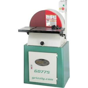 Grizzly G0775 220v 20 Inch Heavy duty Disc Sander