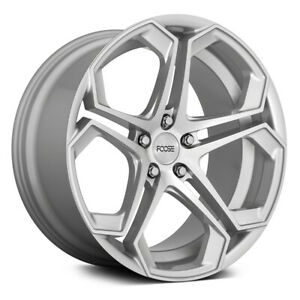 Foose Impala F170 Rim 20x9 5x120 Et35 Gloss Silver With Machined Face Qty Of 1