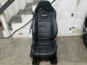 2015 2019 Ford Mustang Gt Black Leather Rh Passenger Recaro Seat
