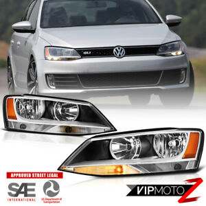 Left Right For 11 18 Vw Jetta Sedan Factory Style Headlights Lamps Replacement