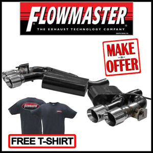 Flowmaster 2016 2020 Camaro Ss Zl1 6 2l American Thunder Axle back Exhaust Kit