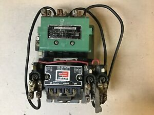 Furnas 14fb32aa11 Size 2 Motor Starter With 120 240 Volt Coil